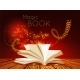 Opened Book with Magic Light - GraphicRiver Item for Sale