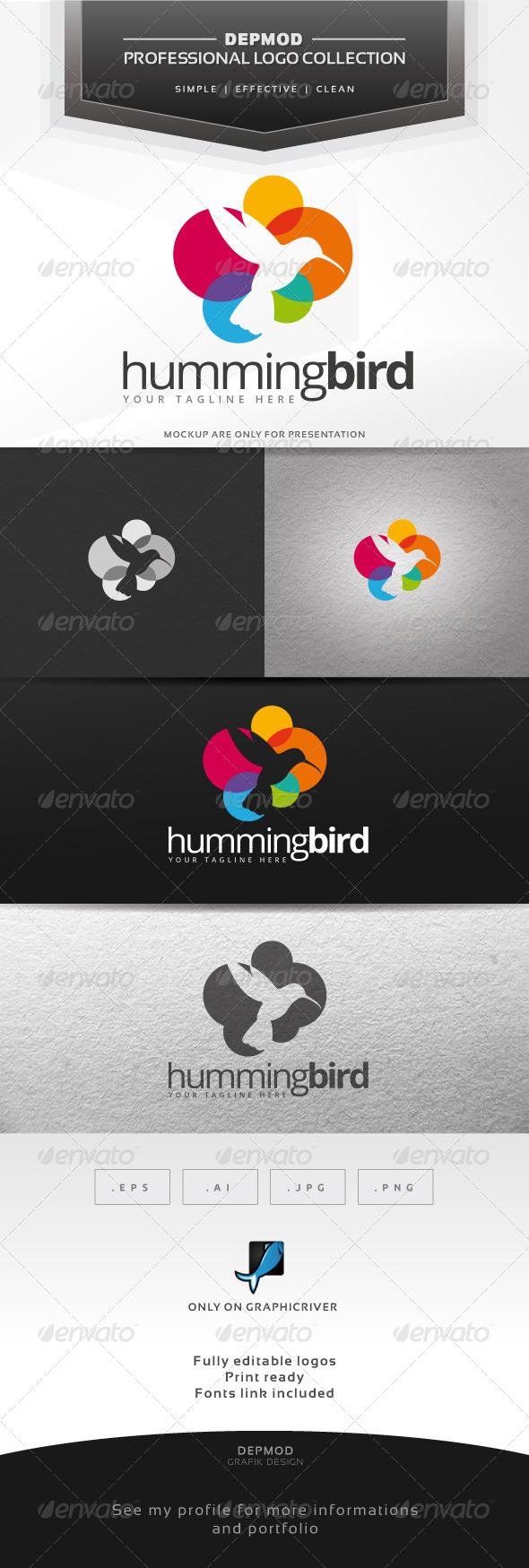 GraphicRiver Hummingbird Logo 7228369