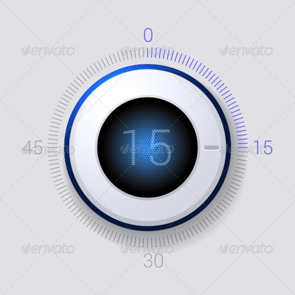 GraphicRiver Electronic Dial Timer 15 Seconds 7228387