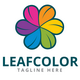 Leaf Color Logo Template - GraphicRiver Item for Sale