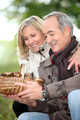mature couple after ramble in the woods - PhotoDune Item for Sale