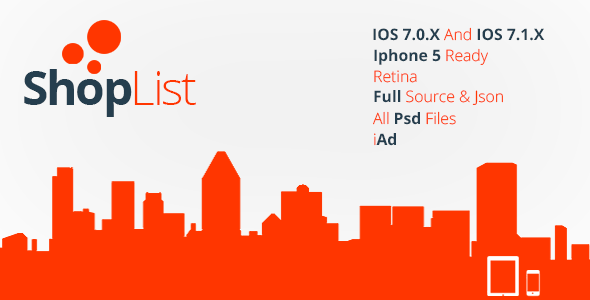 CodeCanyon ShopList Iphone Ipad App with iAd 7228560