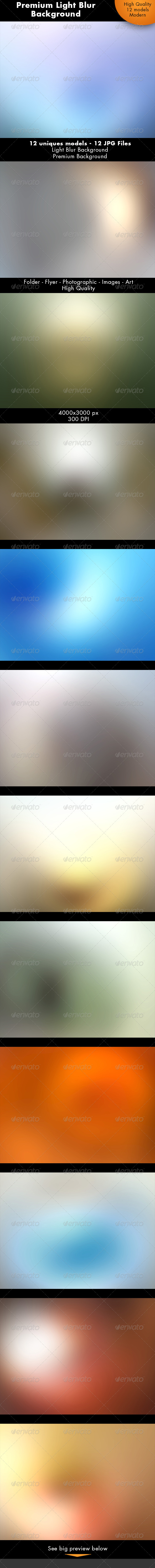 GraphicRiver Light Blur Background 7228573