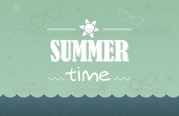 GraphicRiver Summer Card 7228660