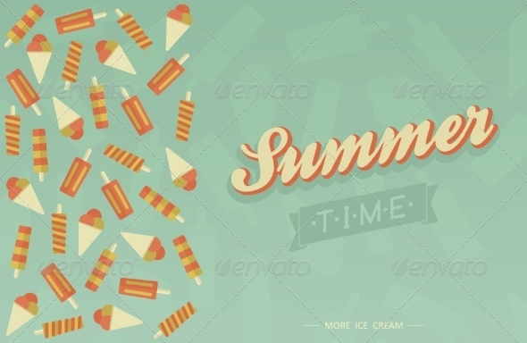 GraphicRiver Summer Card 7228678