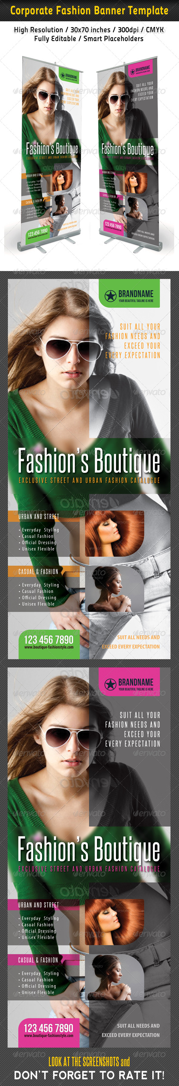 GraphicRiver Fashion Multipurpose Banner Template 39 7228696