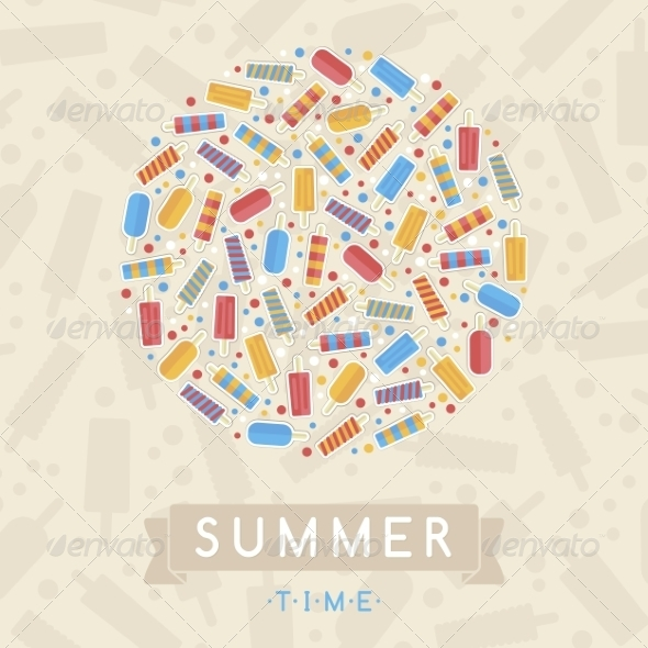GraphicRiver Summer Card 7228714