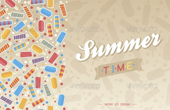 GraphicRiver Summer Card 7228742