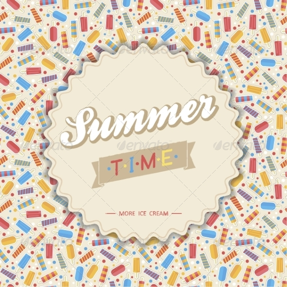 GraphicRiver Summer Card 7228777
