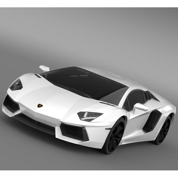 3DOcean Lamborghini Aventador LP 700 4 LB834 7228832