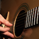 Acoustic Guitar Plucking - VideoHive Item for Sale