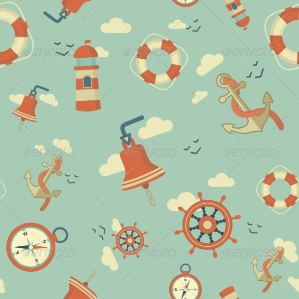 GraphicRiver Maritime Pattern 7228927