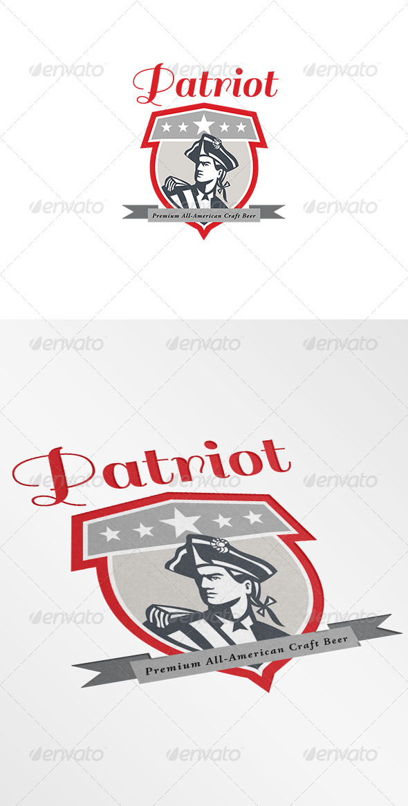 GraphicRiver Patriot Premium All-American Craft Beer Logo 7229201