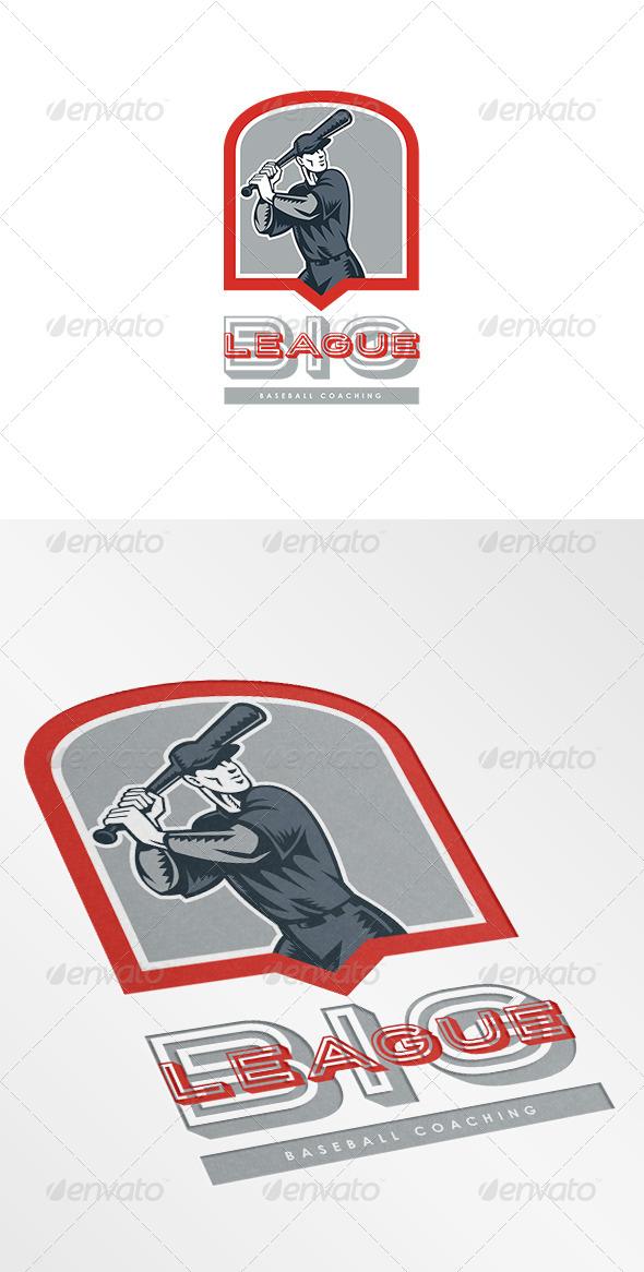 GraphicRiver Big League Baseball Coaching Logo 7229214