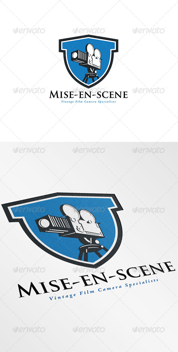 GraphicRiver Vintage Film Camera Specialists Logo 7229288