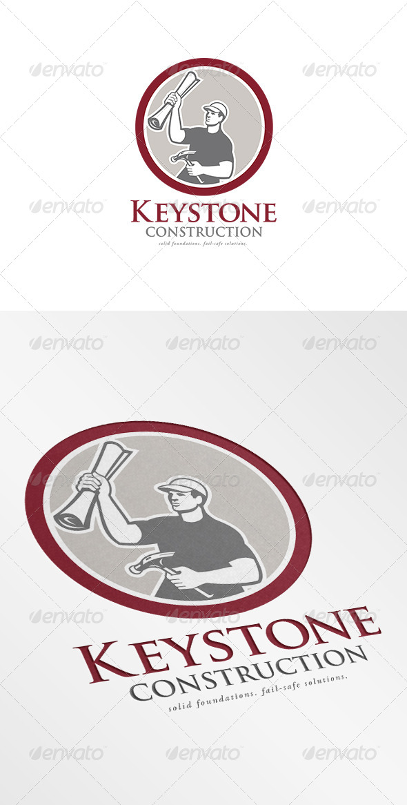 GraphicRiver Keystone Construction Logo 7229299