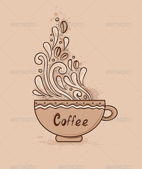 GraphicRiver Cup of Coffee 7229310