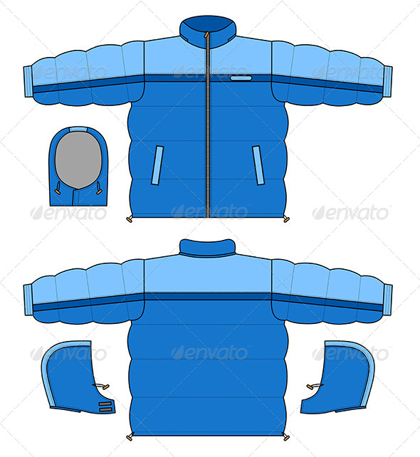 GraphicRiver Jacket 7229326