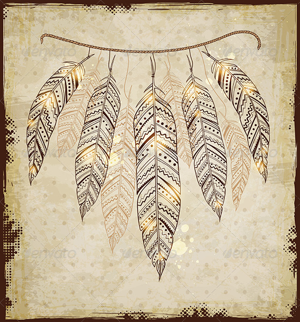 Indian Feather Backgrounds For Powerpoints » Tinkytyler ...