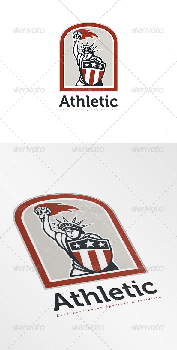 GraphicRiver Athletic Sports Logo 7229433