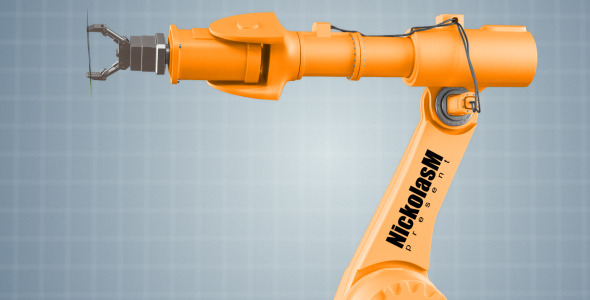 After Effects Project - VideoHive Industrial Robot 757308