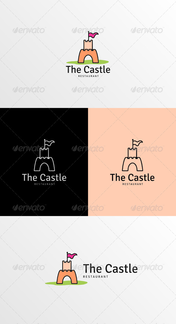 GraphicRiver The Castle Logo 7229546