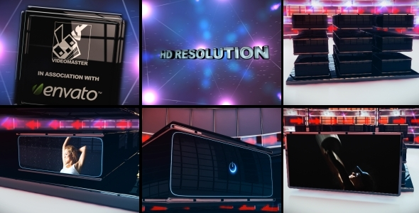 After Effects Project - VideoHive Cubical Screens 2 757435