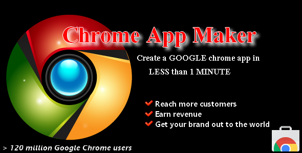 CodeCanyon Make Chrome App within 1 minute 7229691