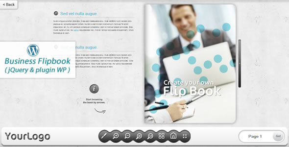 CodeCanyon Business FlipBook jQuery&pluginWP 7229804