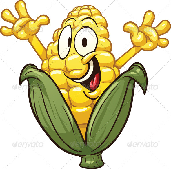 GraphicRiver Cartoon Corn 7229806