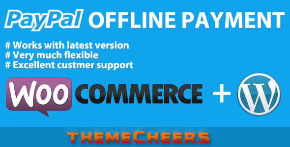 CodeCanyon PayPal Offline Payment for WooCommerce 7143318