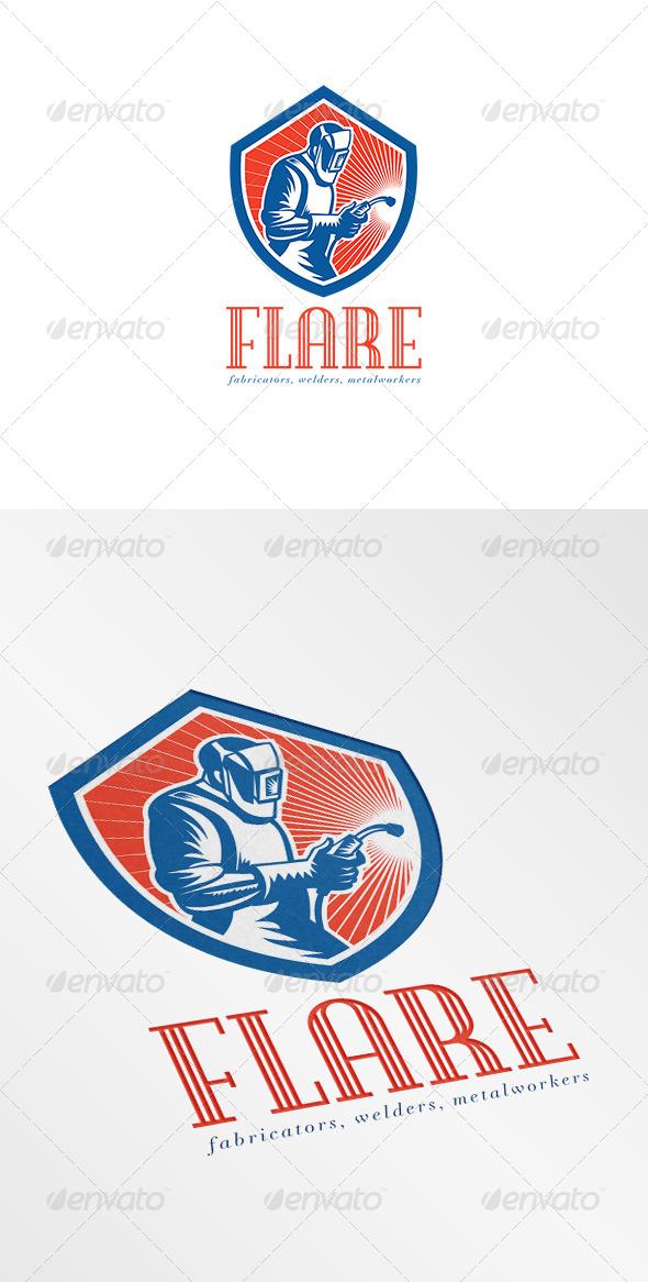 GraphicRiver Welder Fabricator Welding Logo 7229817