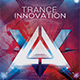 Trance Innovation Flyer Template - GraphicRiver Item for Sale
