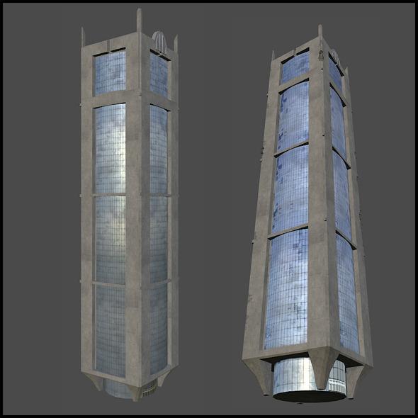 3DOcean Concrete Building 7231548
