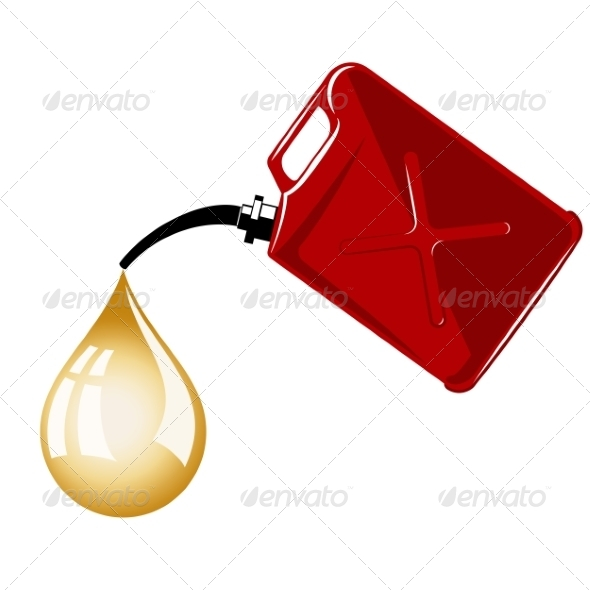 GraphicRiver Gas Can 7231667
