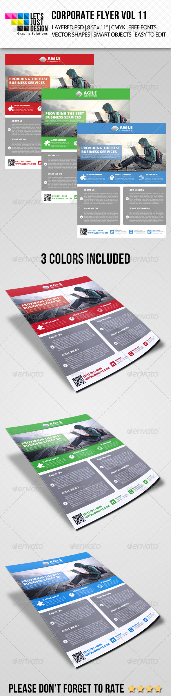 GraphicRiver Corporate Flyer Template Vol 11 7210556