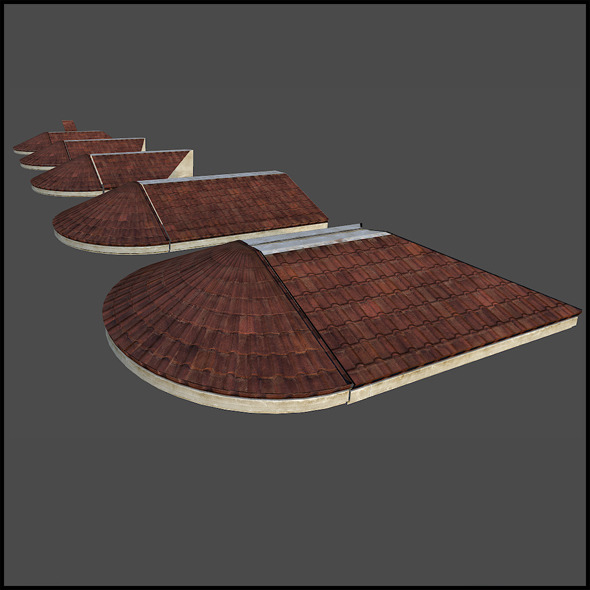 3DOcean RoofLedge Sets 7232308