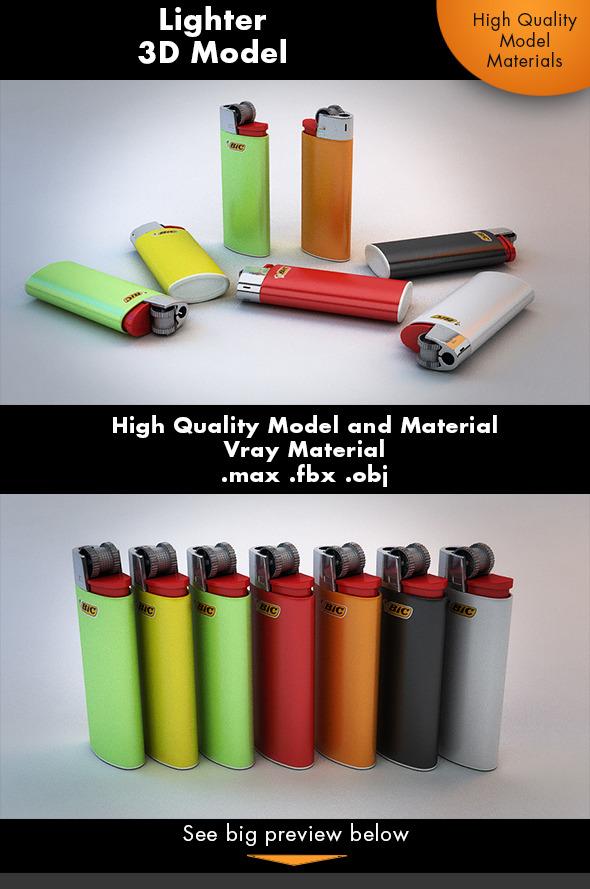 3DOcean Classic Lighter 7232371
