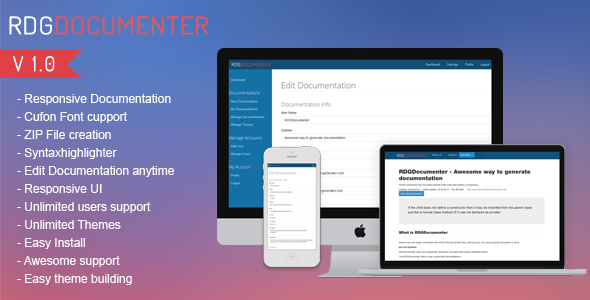 CodeCanyon Responsive Documentation Generator 7232377