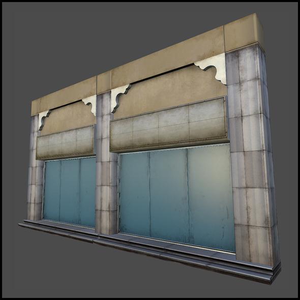 3DOcean Shop Set 01 7232379