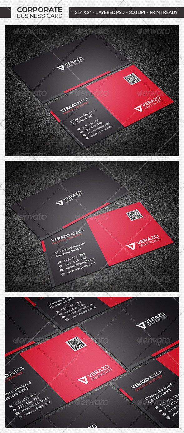 GraphicRiver Modern Business Card 11 7232821