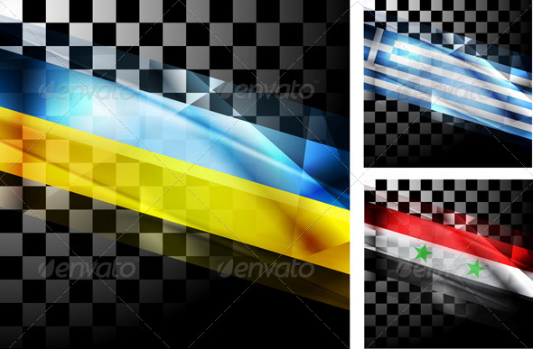 GraphicRiver Concept Design of Flags 7232899