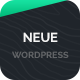 Neue - WordPress App Landing Theme - ThemeForest Item for Sale