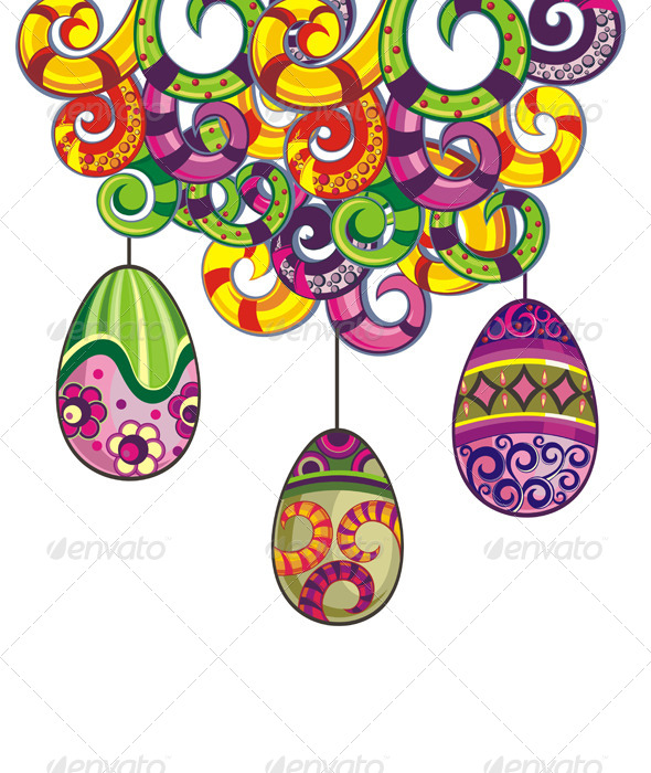 GraphicRiver Easter Eggs 7233742