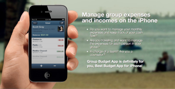 CodeCanyon iOS Finance App for Groups iPhone Full App 7146603
