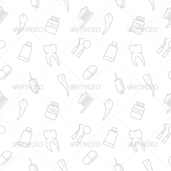 GraphicRiver Seamless teeth pattern 7235199