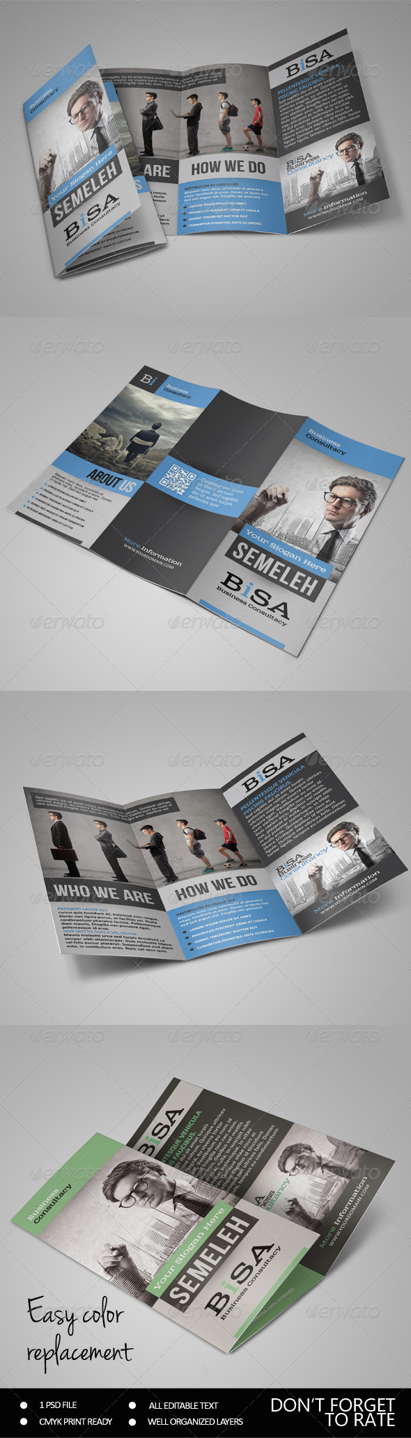 GraphicRiver Standard Business Brochure 7235252