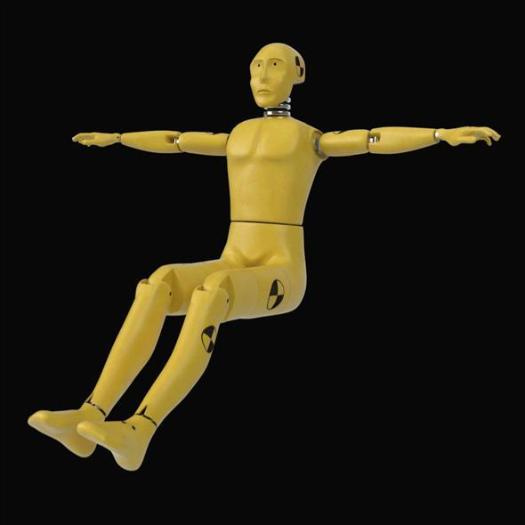 3DOcean Crash Test Dummy 7235881