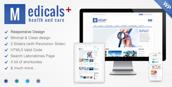ThemeForest Medicals Health & Medical Wordpress Theme 7216801