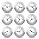 Wall Clock Set on White Background. Vector. - GraphicRiver Item for Sale